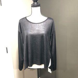 RW Zara black long sleeve top